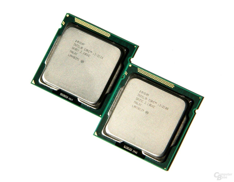 Intel Core i3-2120 und Core i3-2100