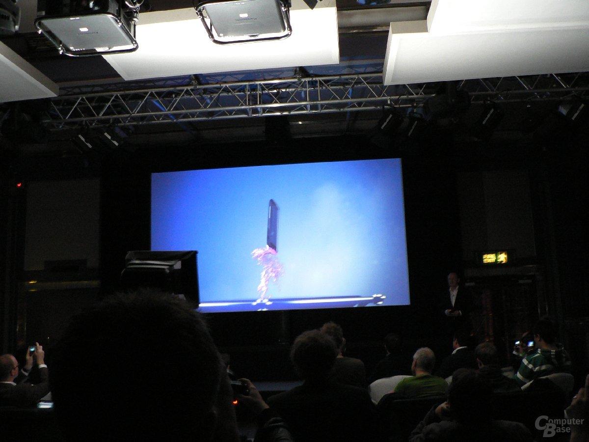 HTC Sensation Präsentation