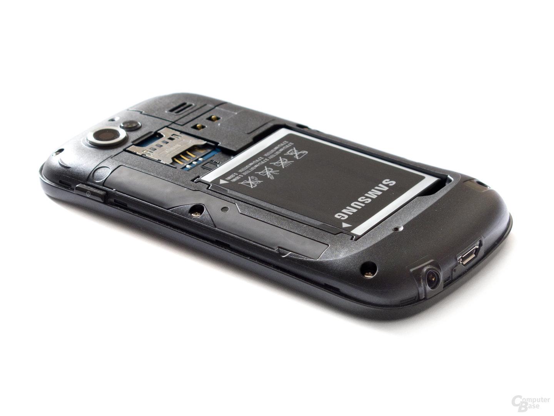 Nexus S: Rückseite