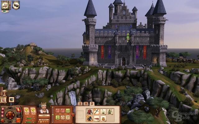 Einsamer Burgfried: Aller Anfang ist schwer