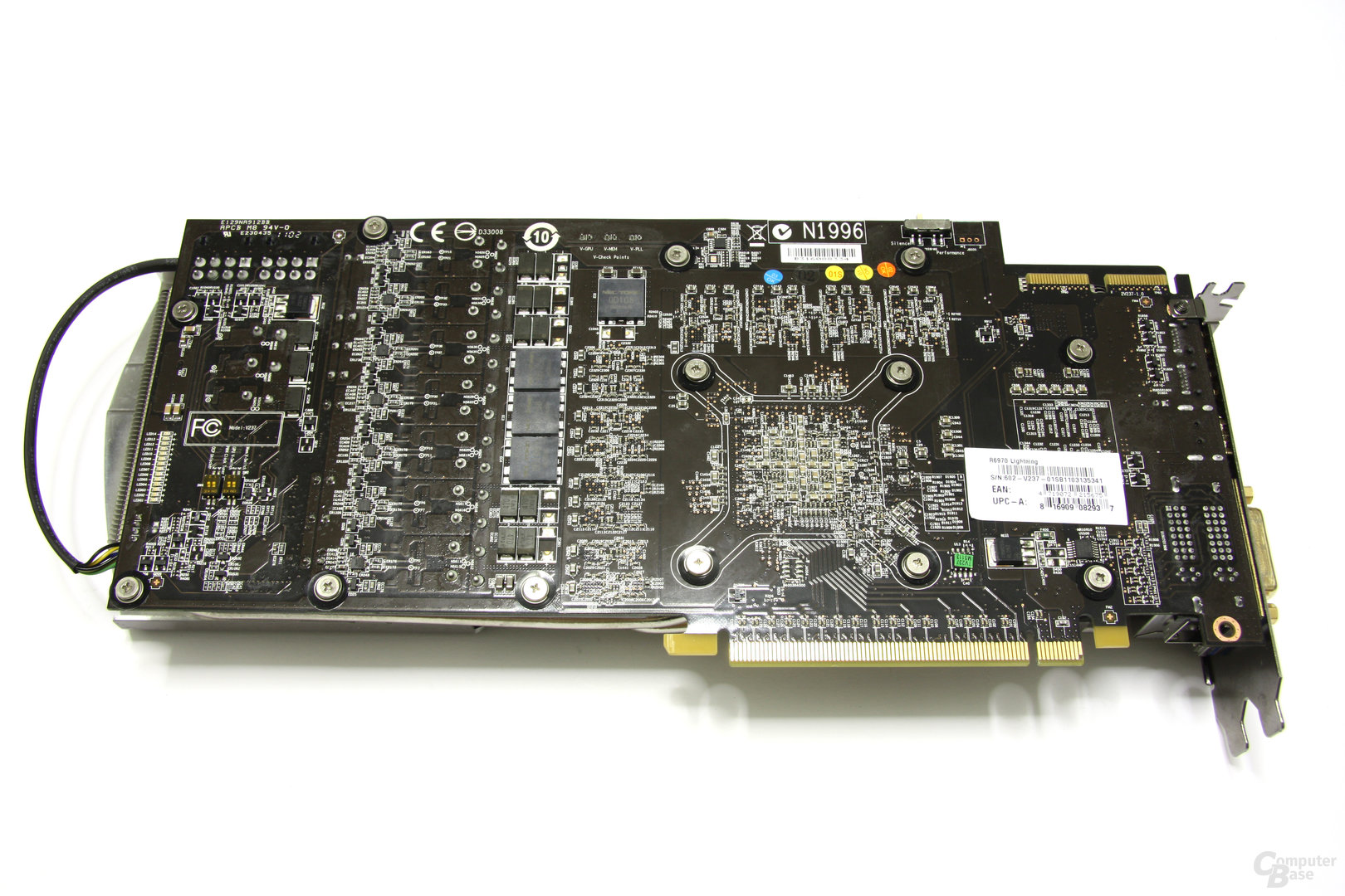 Radeon HD 6970 Lightning Rückseite