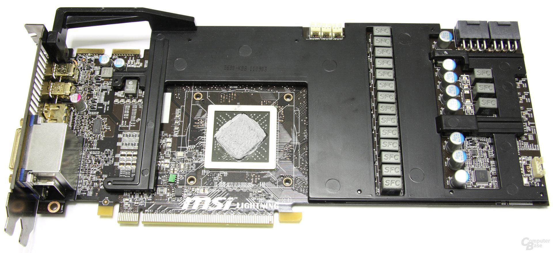 Radeon HD 6970 Lightning ohne Kühler