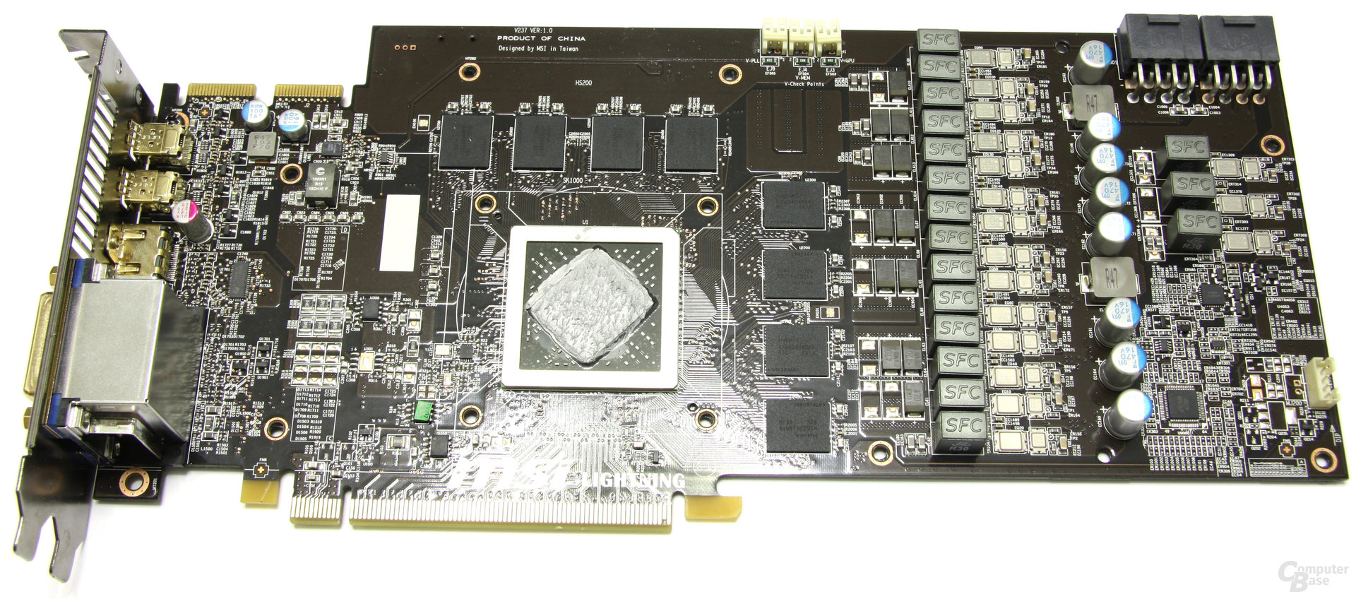 Radeon HD 6970 Lightning ohne Kühlkörper