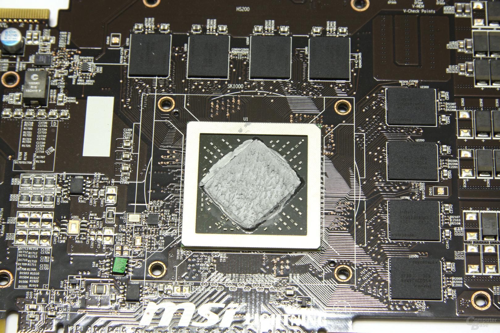 Radeon HD 6970 Lightning GPU und Speicher