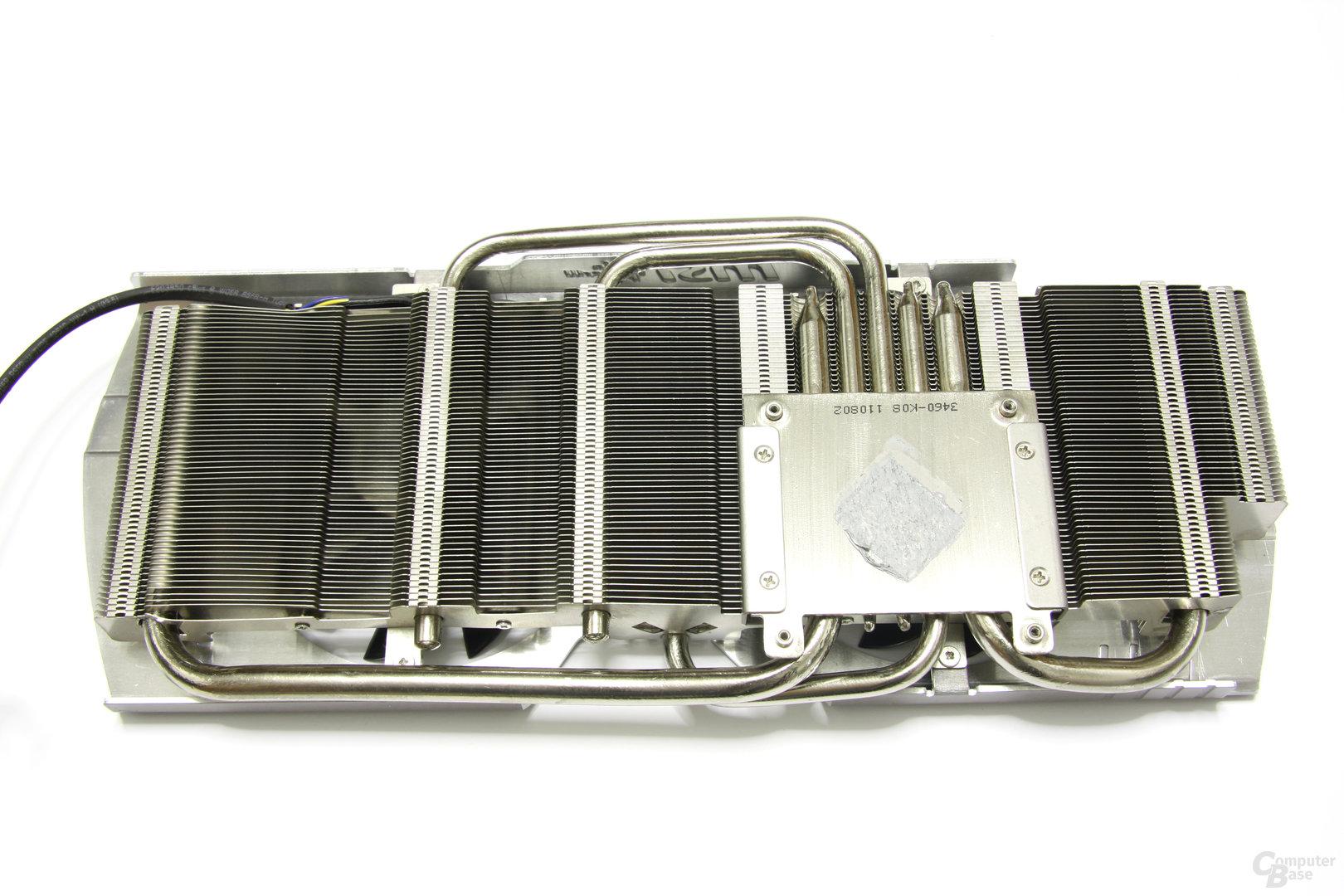 Radeon HD 6970 Lightning Kühlerrückseite