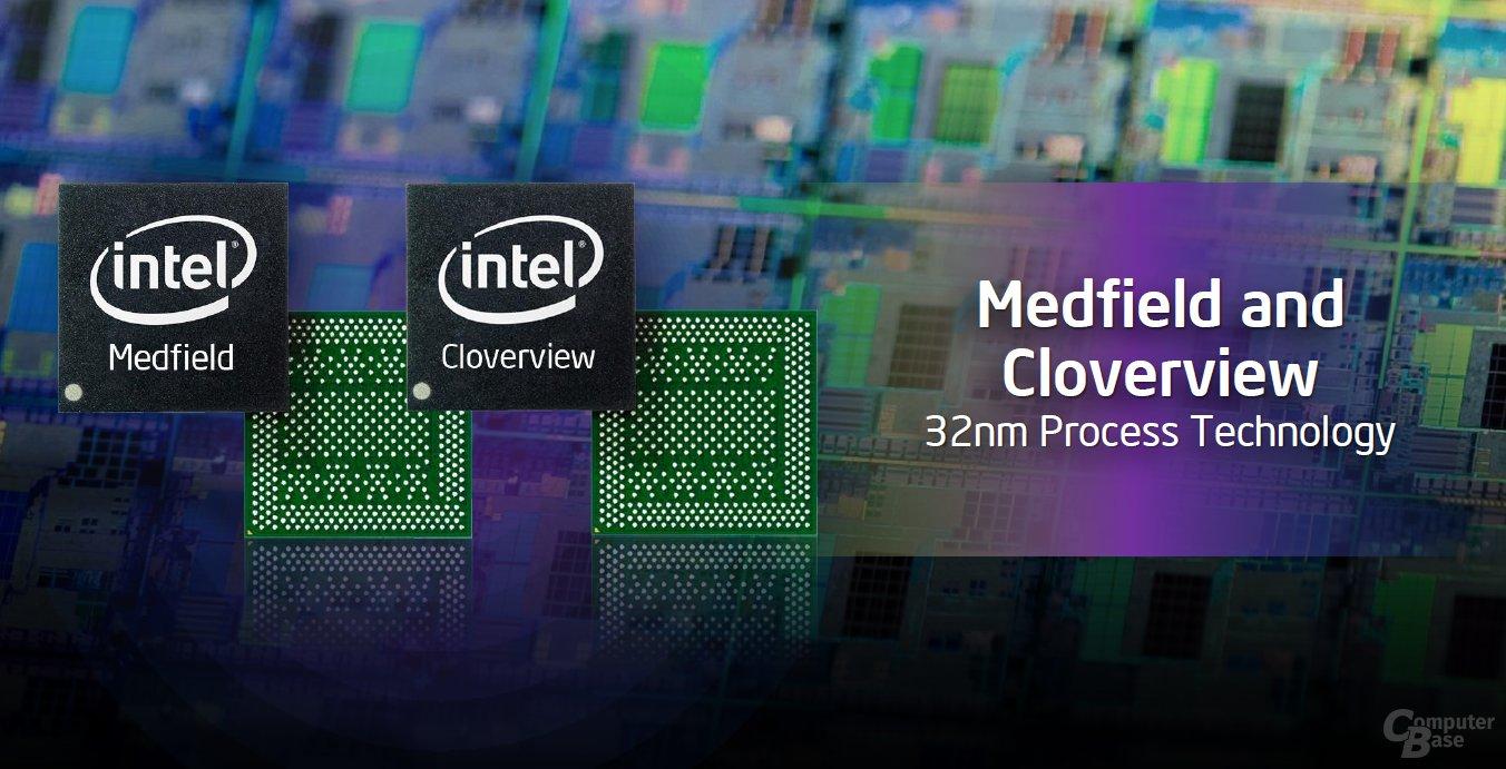 Intels Medfield und Cloverview