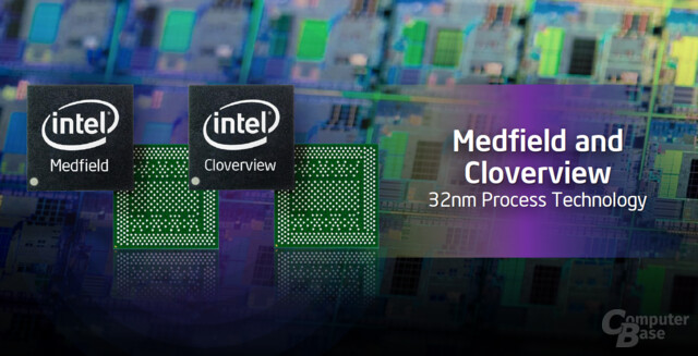Intels Medfield und Cloverview
