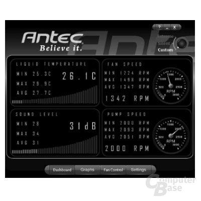 Antec H2O 920 – Software
