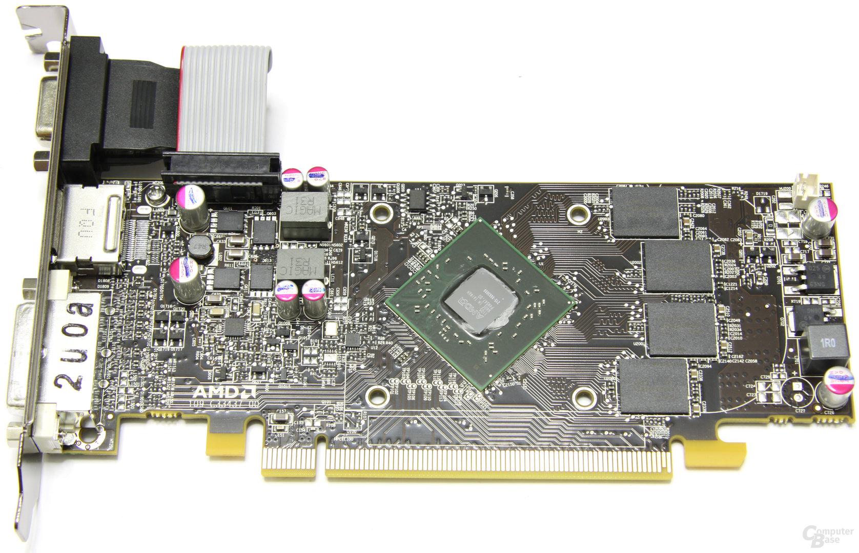 Radeon HD 6670 ohne Kühler