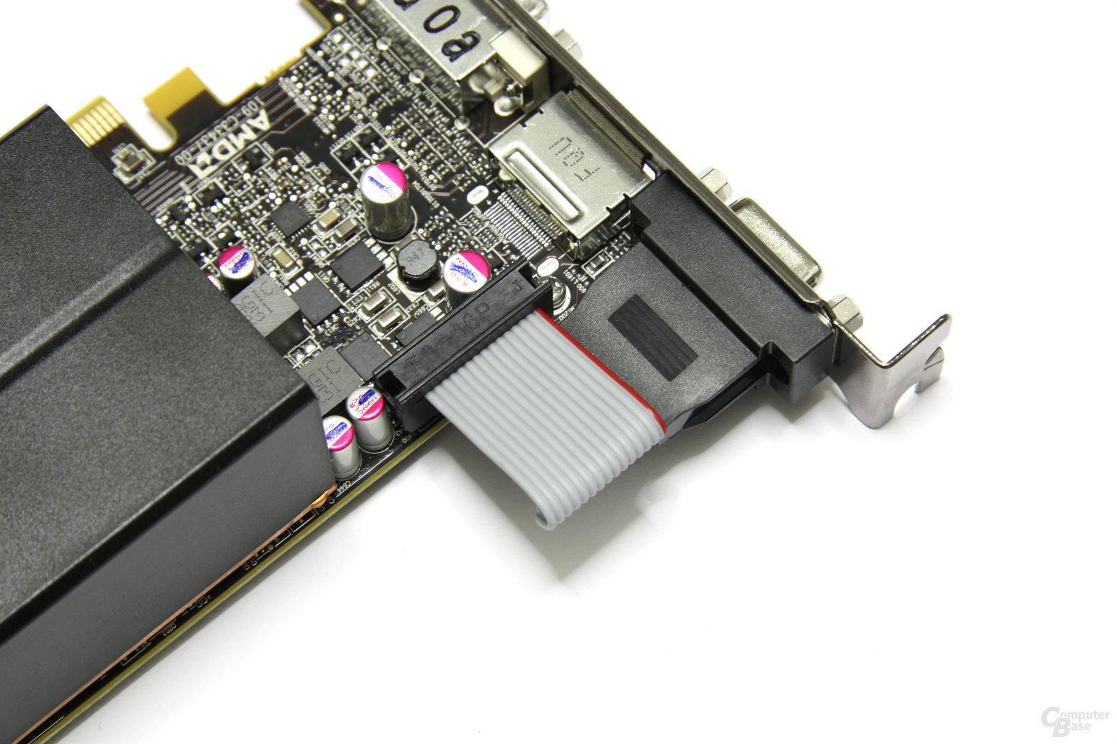 Radeon HD 6670 D-SUB-Kabel