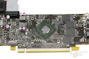 Radeon HD 6670 GPU und Speicher