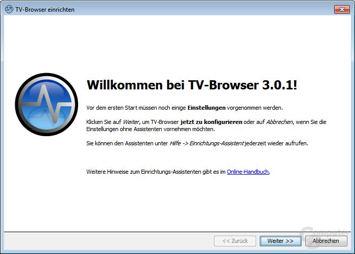 Willkommen bei TV-Browser