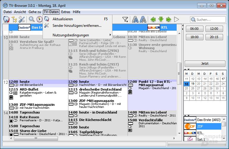 TV-Browser – TV-Daten