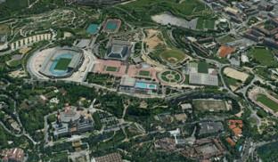 Barcelona, Olympia-Park