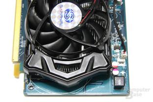 Radeon HD 6570 von oben