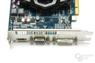 Radeon HD 6570 Anschlüsse