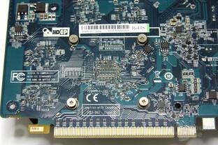 Radeon HD 6570 Chiprückseite
