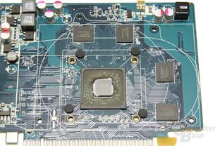 Radeon HD 6570 GPU und Speicher