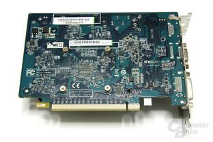 Radeon HD 6570 Rückseite