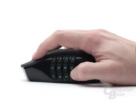 Kein Telefon – eine Maus mit zwölf Daumentasten