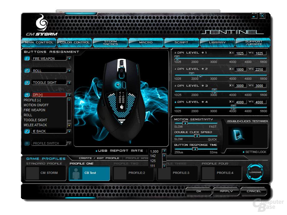 Sentinel Zero-G Software