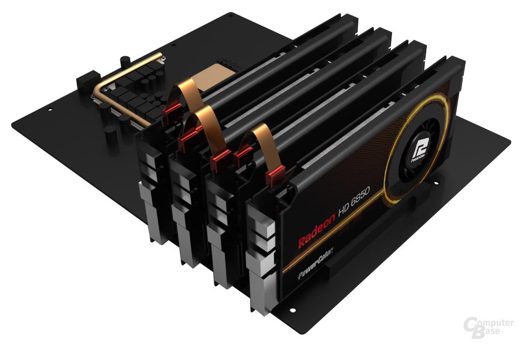 PowerColor HD6850 Single Slot Edition