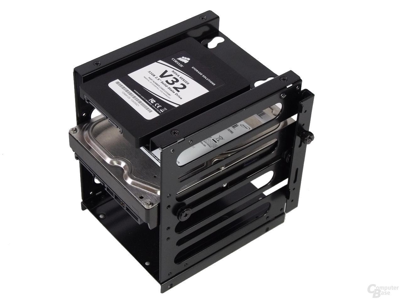 LanCool PC-K63 – Festplattenkäfig