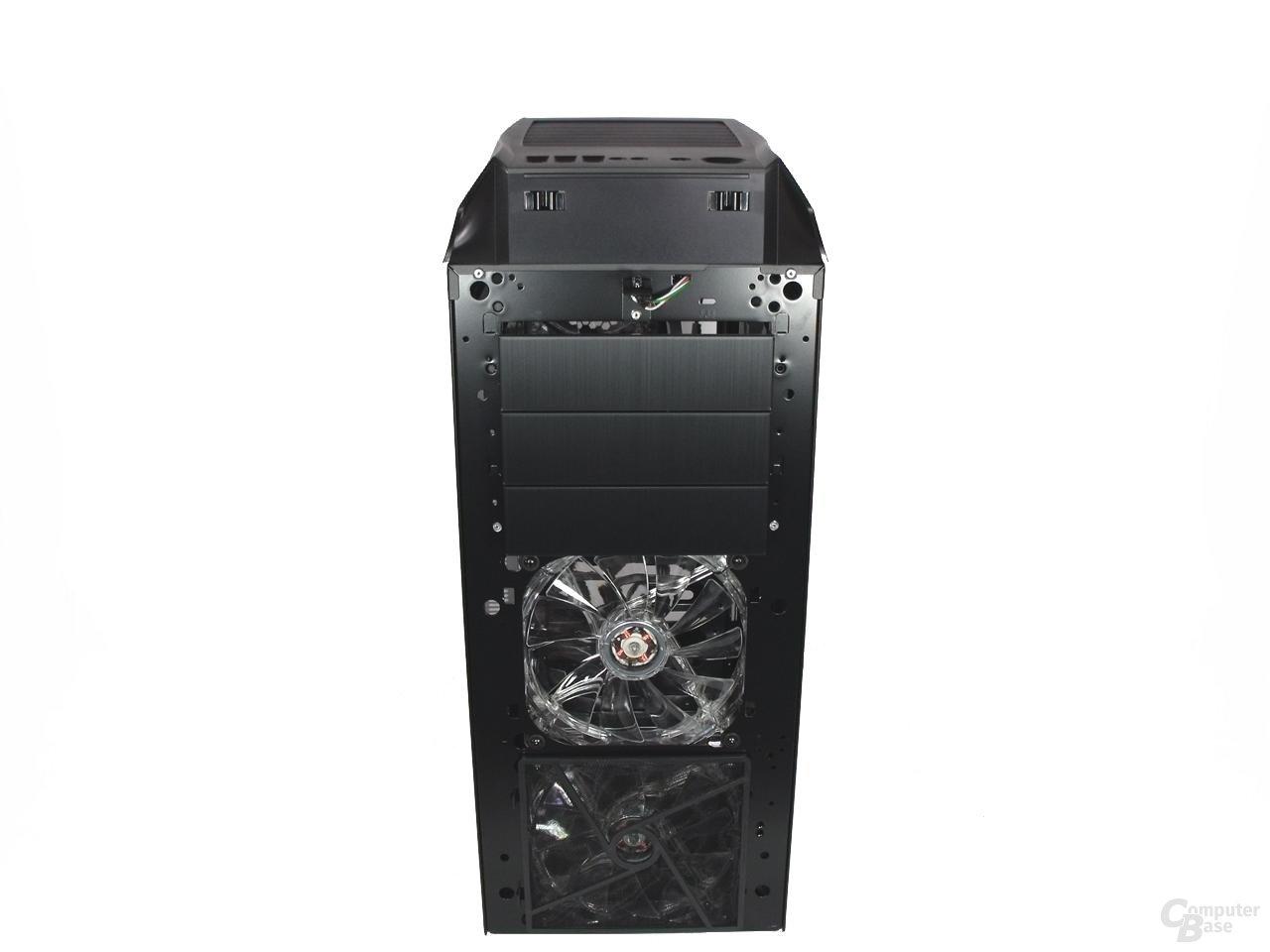 LanCool PC-K63 – Vorderansicht Front abgenommen