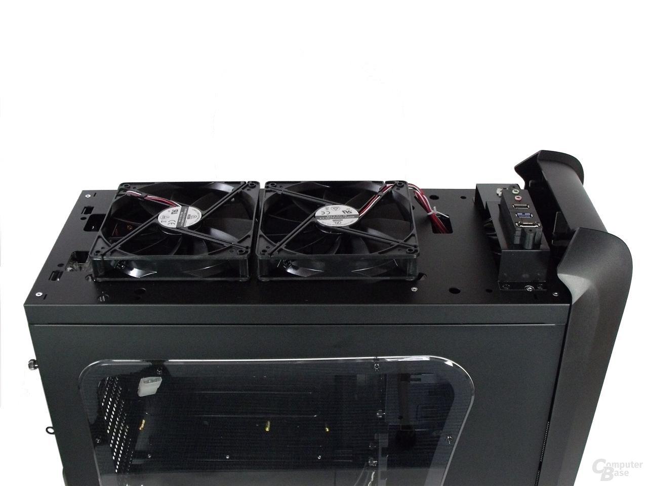 LanCool PC-K63 – Deckel ohne Top-Cover