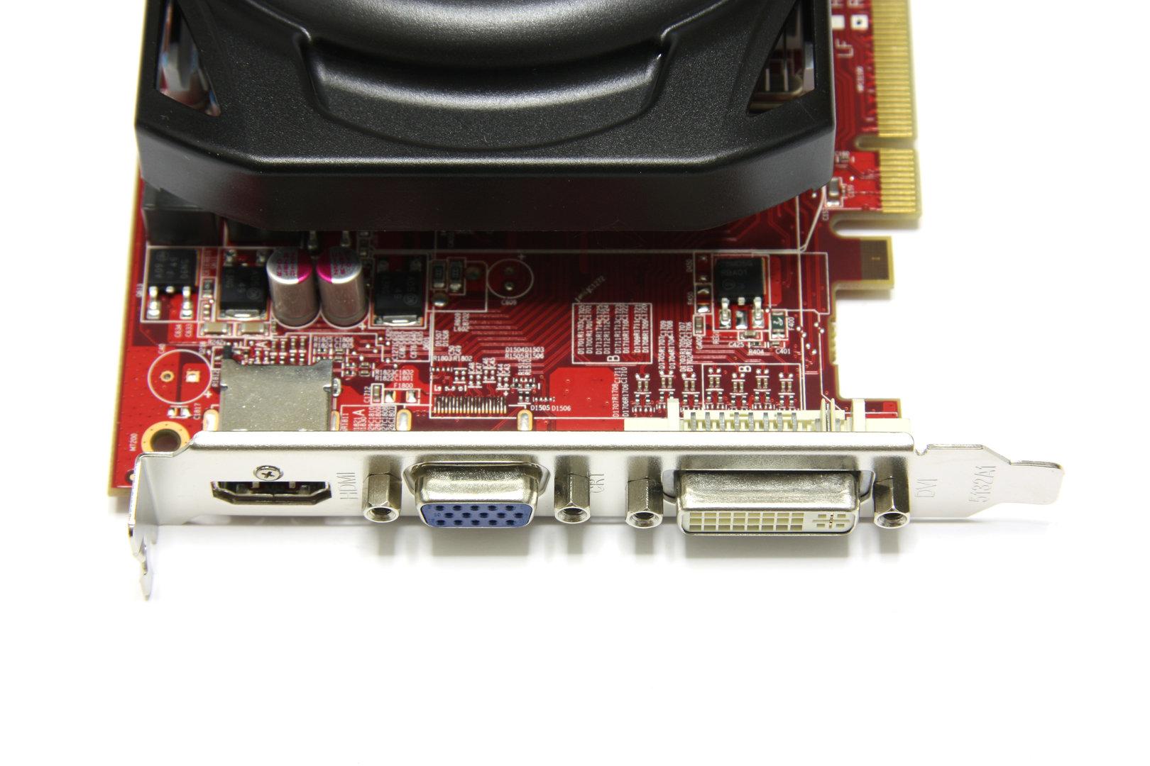 Radeon HD 6670 Anschlüsse
