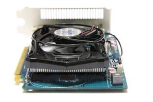 Radeon HD 6670 von hinten
