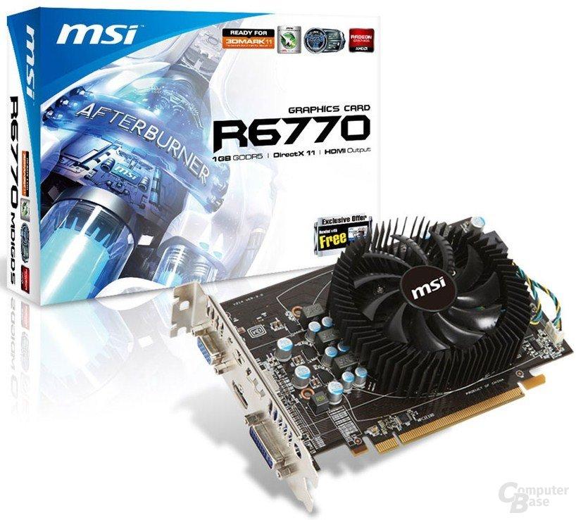 MSI Radeon HD 6770