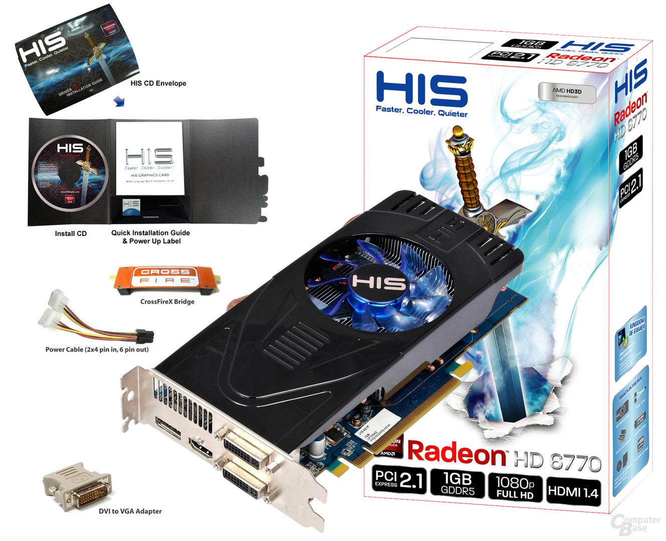 HIS Radeon HD 6770