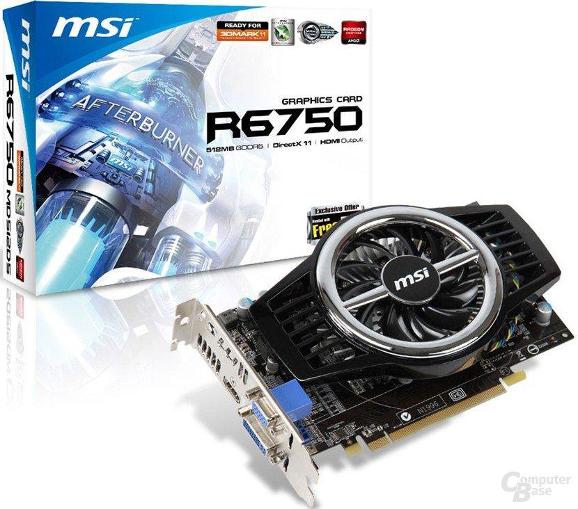 MSI Radeon HD 6750