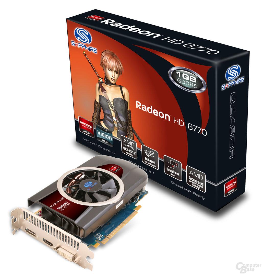 Sapphire Radeon HD 6770 1 GB GDDR5