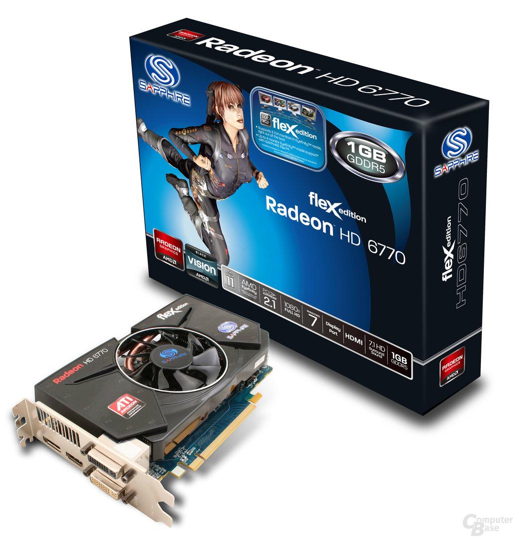 Sapphire Radeon HD 6770 Flex Edition 1 GB GDDR5