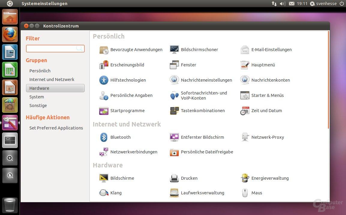 Ubuntu 11.04 – Systemeinstellung