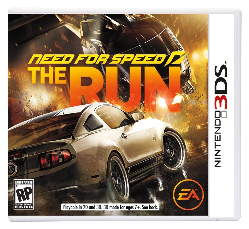 Need for Speed: The Run Packshot (Nintendo 3DS)
