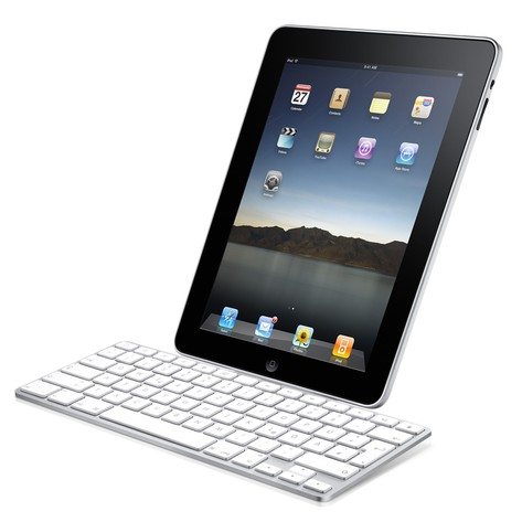 Apples Tastatur-Dock für das iPad 2