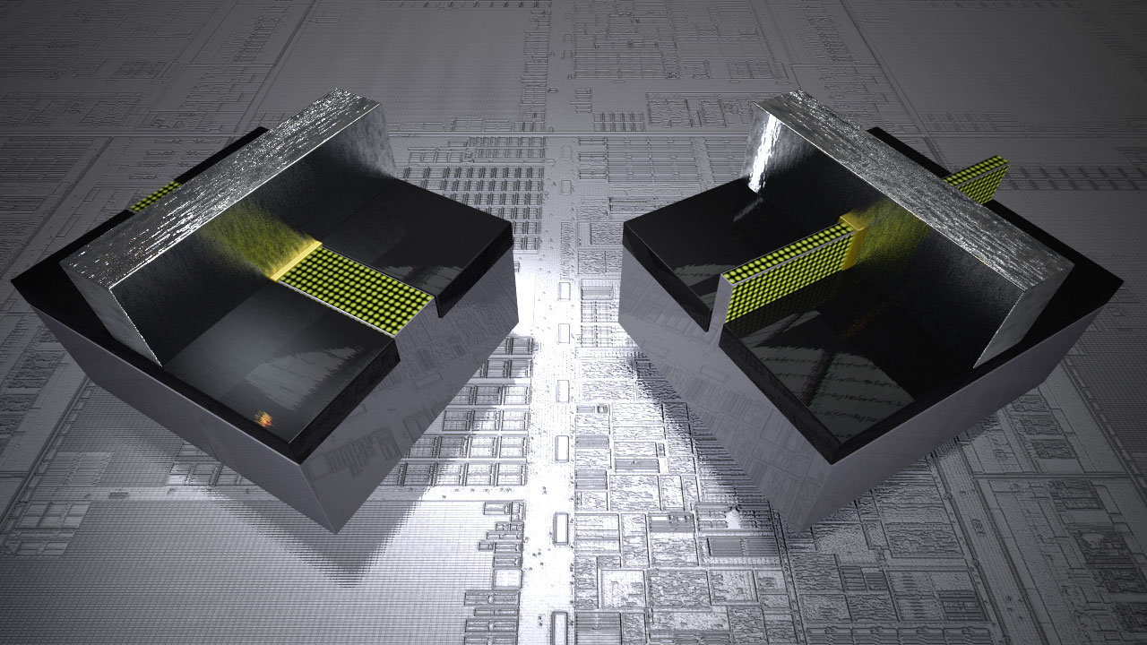 planarer Transistor vs. Tri-Gate