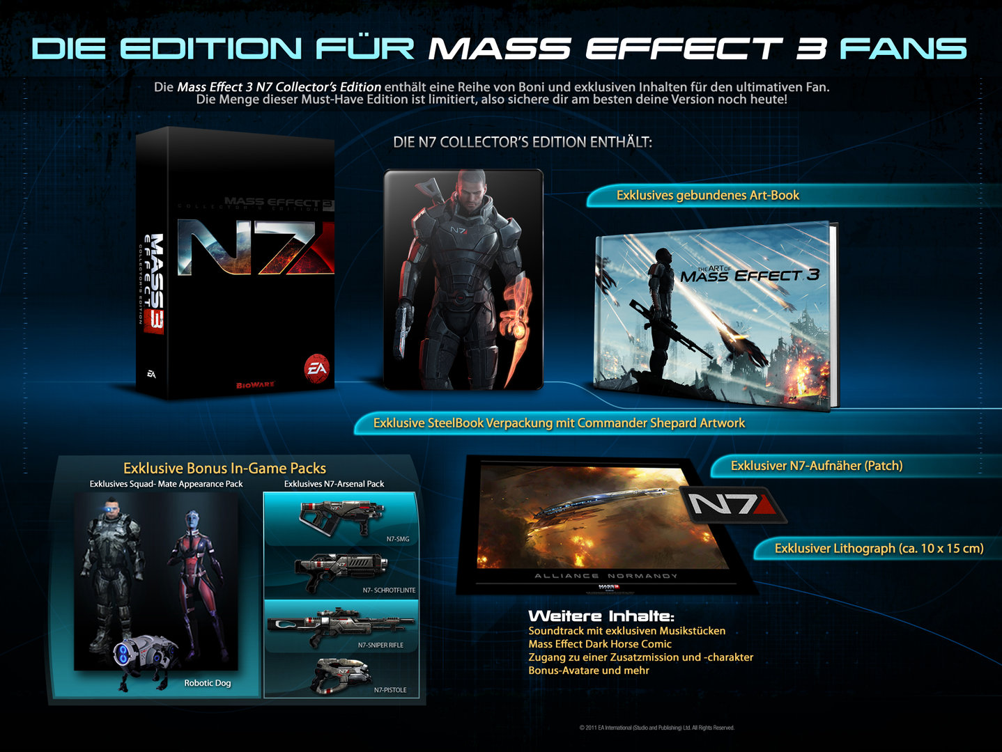 Übersicht N7 Collector's Edition PC