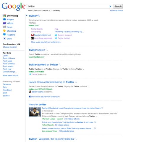 Neues Design der Google-Ergebnisseite