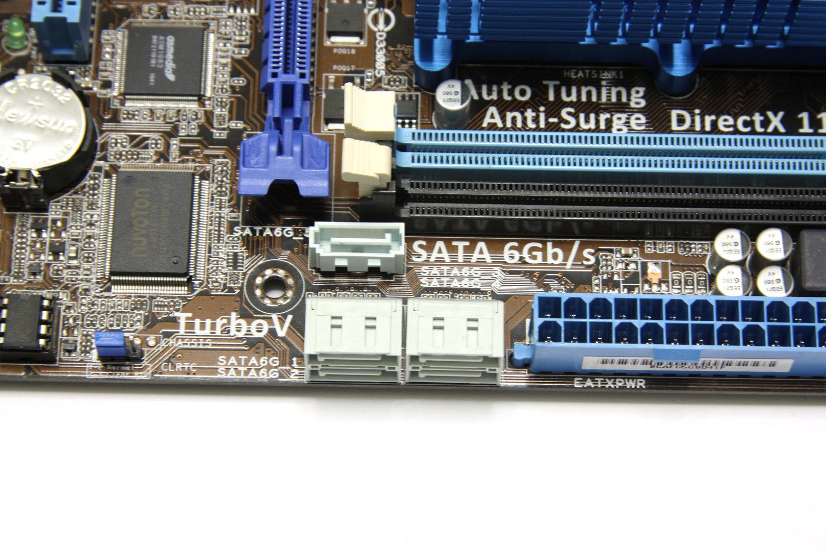 Asus E35M1-M Pro SATA-Anschlüsse