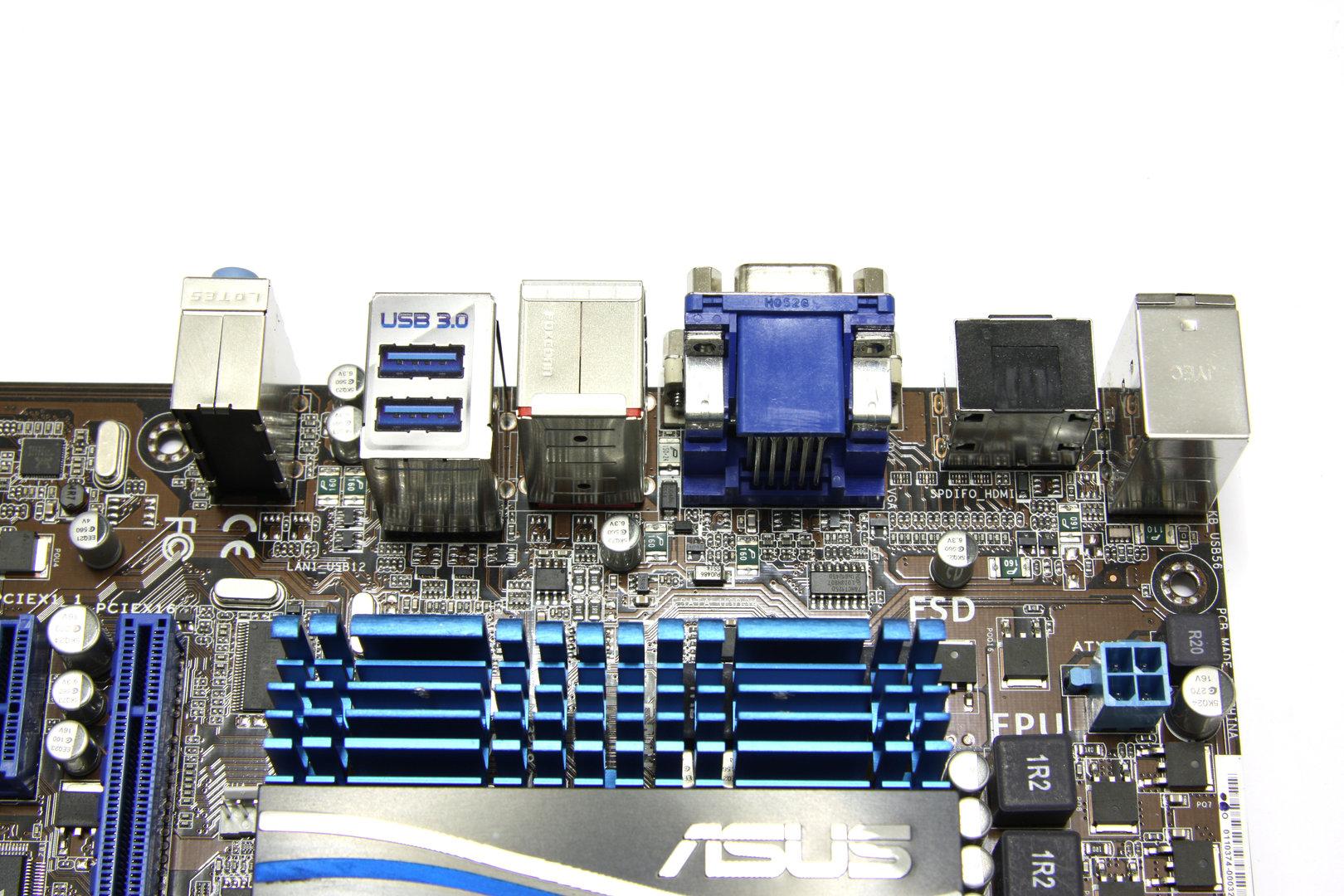 Asus E35M1-M Pro Panel