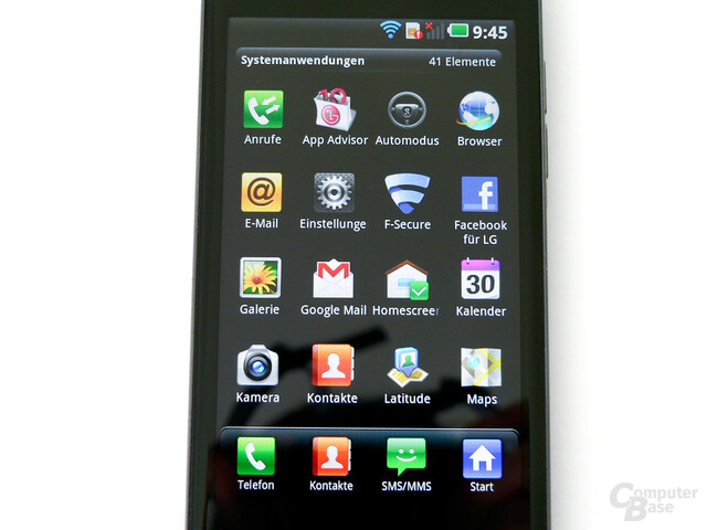 LG Optimus Speed (P990)