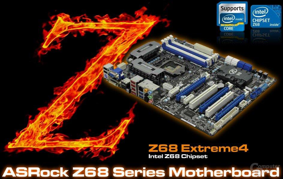 ASRocks Microsite zum Z68