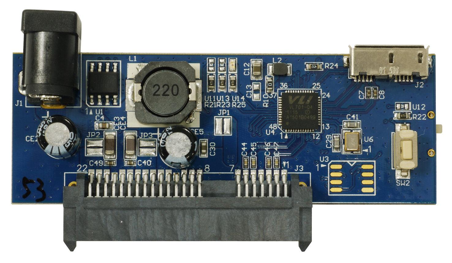 VIA VL701 USB 3.0-SATA Demo Card