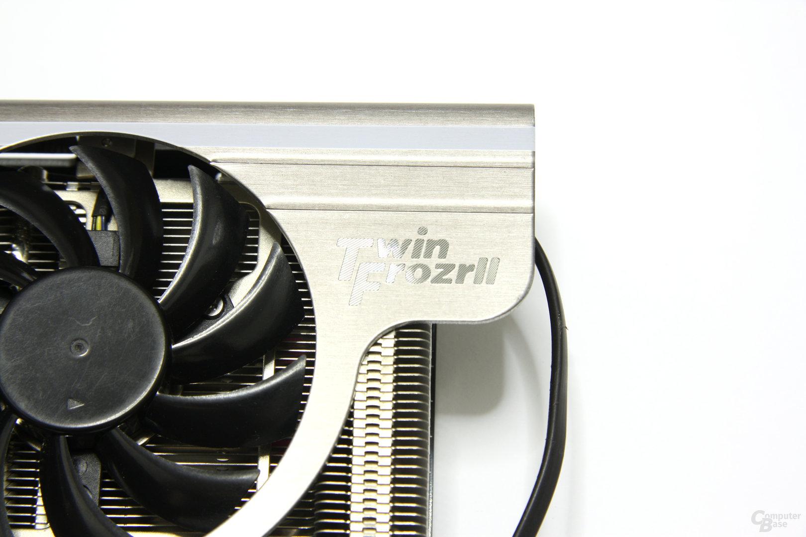 GeForce GTX 560 Twin Frozr II OC Logo