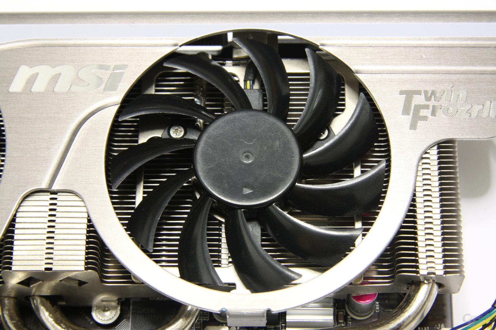 GeForce GTX 560 Twin Frozr II OC Lüfter