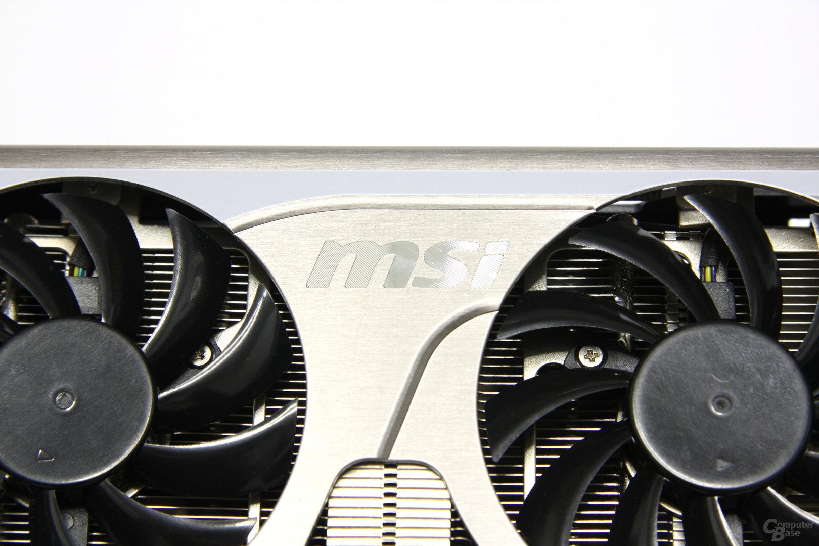 GeForce GTX 560 Twin Frozr II OC Schriftzug